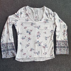 SUPRE   FLORAL PRINT TOP SIZE 12